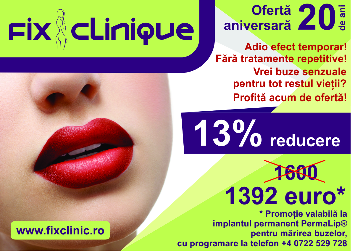 Implant permanent pentru mărirea buzelor - PermaLip®