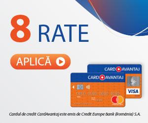 Plătește în rate de la FIX CLINIQUE cu Card Avantaj