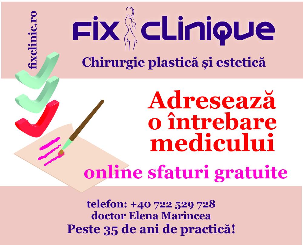Online sfaturi gratuite - adresează o întrebare medicului de chirurgie plastică și estetică
